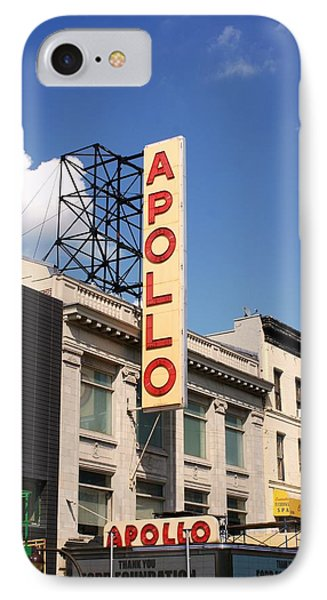Apollo Theater IPhone 7 Case by Martin Jones