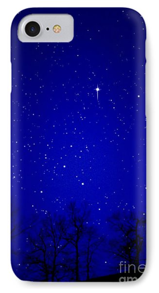 Appalachian Mountain Starry Night Phone Case by Thomas R Fletcher