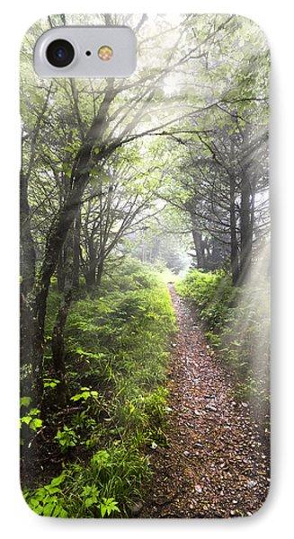 Appalachian Trail IPhone Case by Debra and Dave Vanderlaan