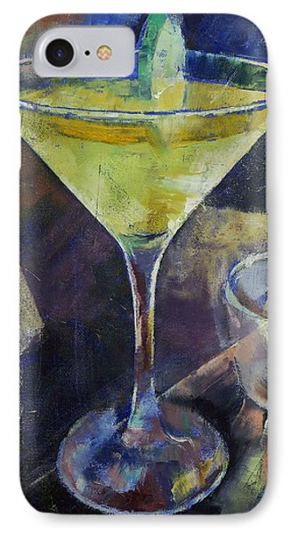 Appletini IPhone Case by Michael Creese