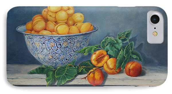 Apricots And Peaches Phone Case by Enzie Shahmiri