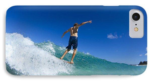 Aqua Glide IPhone Case by Sean Davey