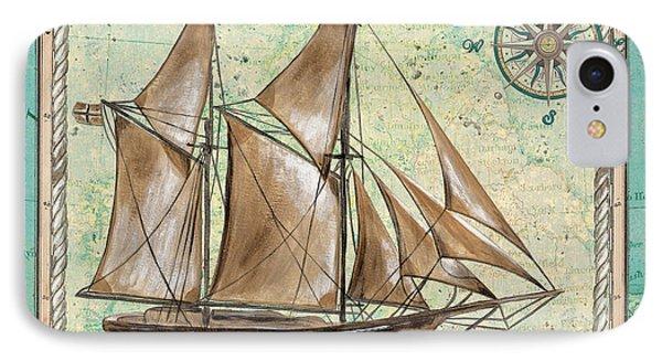 Aqua Maritime 2 IPhone Case by Debbie DeWitt