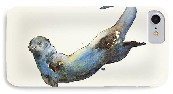 Aqua IPhone 7 Case by Mark Adlington