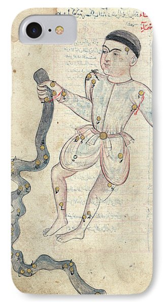 Aquarius Constellation IPhone Case by Library Of Congress