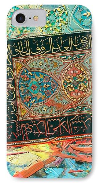 Arabesque 16c IPhone Case by Shah Nawaz