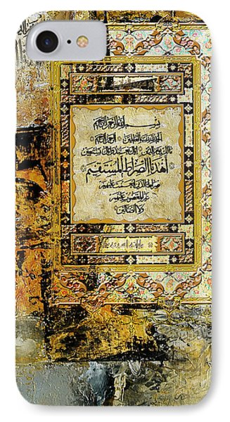 Arabesque 27b IPhone Case by Shah Nawaz
