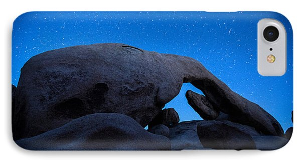 Arch Rock Starry Night 2 IPhone Case by Stephen Stookey