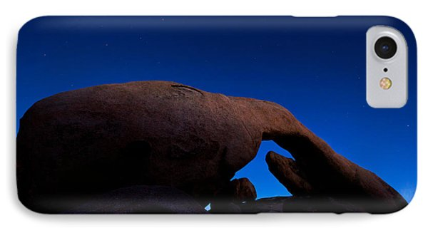 Arch Rock Starry Night IPhone Case by Stephen Stookey