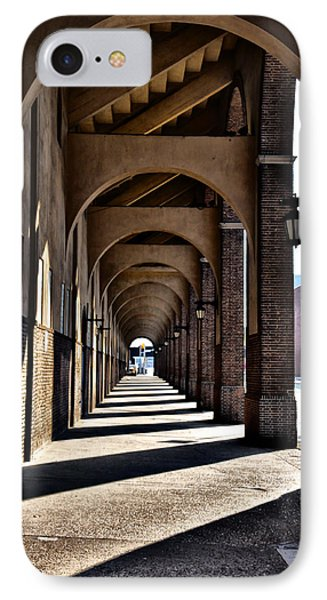 Arched Walkway At Franklin Field IPhone Case by Bill Cannon