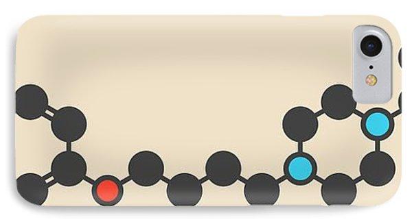 Aripiprazole Antipsychotic Drug Molecule IPhone Case by Molekuul