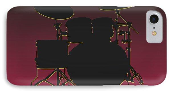 Arizona Cardinals Drum Set IPhone 7 Case by Joe Hamilton