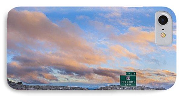 Arizona Highway Sunset IPhone Case by Anthony Citro