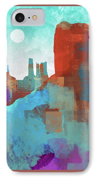 Arizona Monument IPhone Case by Dan Meneely