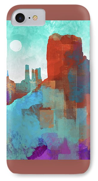 Arizona Monument IPhone 7 Case by Dan Meneely
