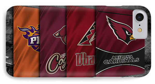Arizona Sports Teams IPhone Case by Joe Hamilton