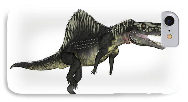 Arizonasaurus Dinosaur IPhone Case by Elena Duvernay