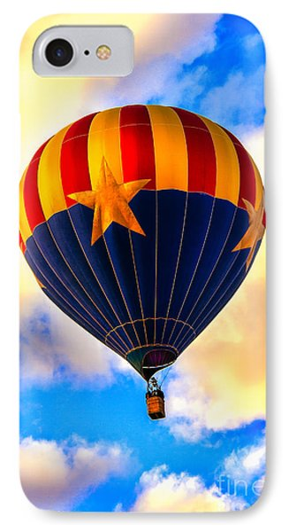 Arizonia Hot Air Balloon Special IPhone Case by Robert Bales