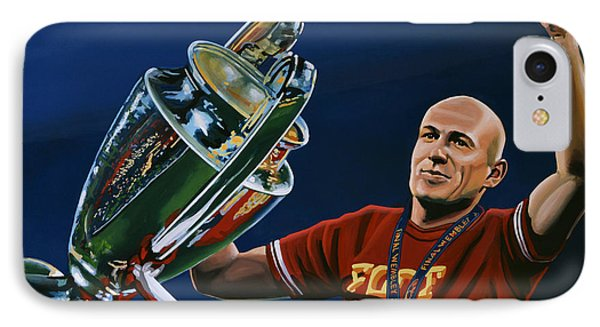 Arjen Robben IPhone Case by Paul Meijering