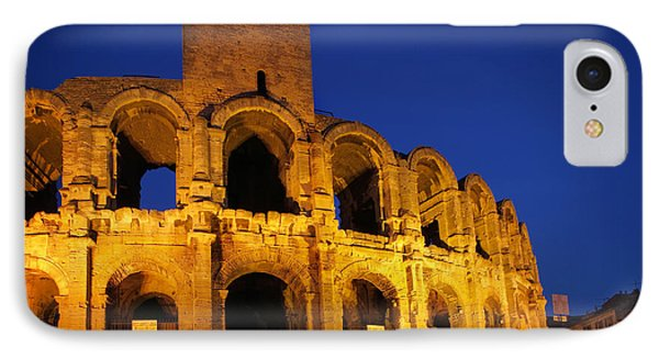 Arles Roman Arena Phone Case by Inge Johnsson
