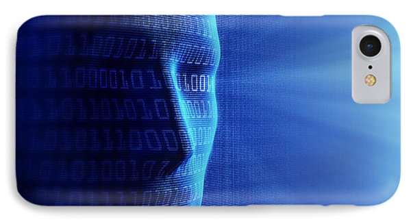 Artificial Intelligence IPhone Case by Johan Swanepoel