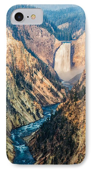 Artist Point In Yellowstone IPhone Case by Andres Leon