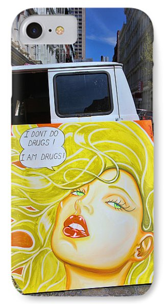 Artist With Attitude Phone Case by Allen Beatty