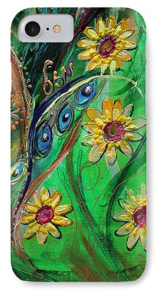 Artwork Fragment 61 Phone Case by Elena Kotliarker