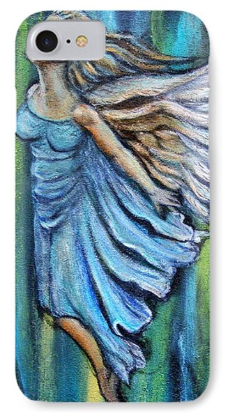 Ascending Angel IPhone Case by The Art With A Heart By Charlotte Phillips