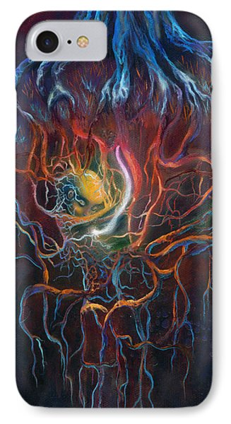 Ascension Of The Soul Part I IPhone Case by Kd Neeley