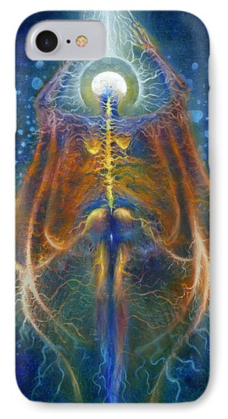 Ascension Of The Soul Part IIi IPhone Case by Kd Neeley