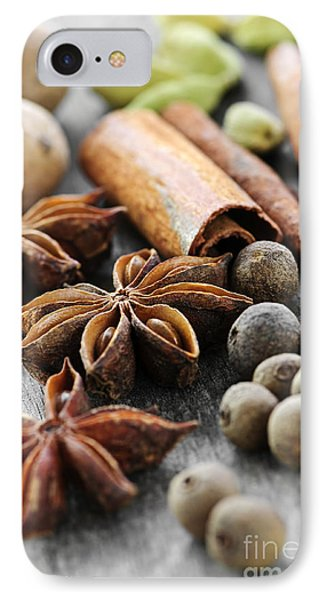 Assorted Spices Phone Case by Elena Elisseeva