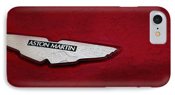 Aston Martin IPhone Case by Mark Rogan