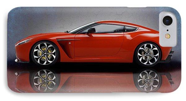 Aston Martin V12 Zagato IPhone Case by Mark Rogan