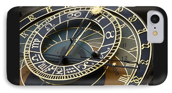 Astronomical Clock Phone Case by Ann Horn