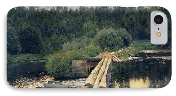 At The Shallow Phone Case by Isaak Ilyich Levitan