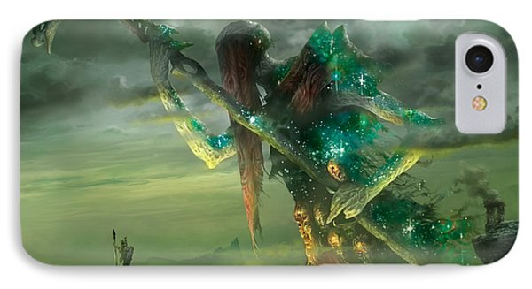 Athreos God Of Passage IPhone Case by Ryan Barger