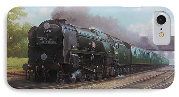 Atlantic Coast Express Phone Case by Mike  Jeffries