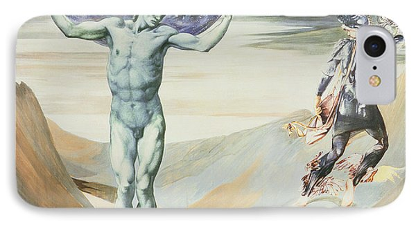 Atlas Turned To Stone, C.1876 IPhone Case by Sir Edward Coley Burne-Jones