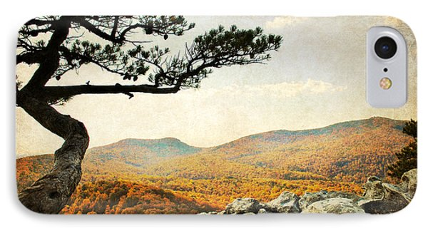 Atop The Rock Phone Case by Kelly Nowak