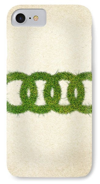 Audi Grass Logo IPhone Case by Aged Pixel