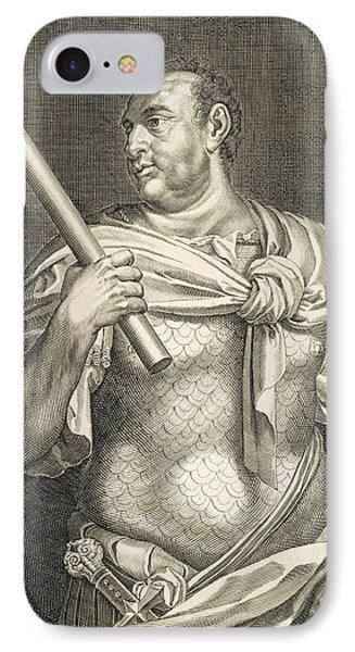 Aullus Vitellius Emperor Of Rome IPhone Case by Titian