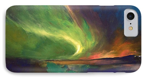 Aurora Borealis IPhone Case by Michael Creese