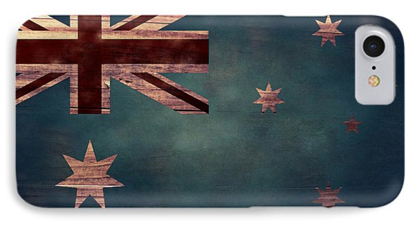 Australian Flag I IPhone Case by April Moen