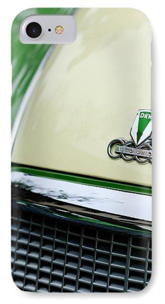 Auto Union Dkw Hood Emblem Phone Case by Jill Reger