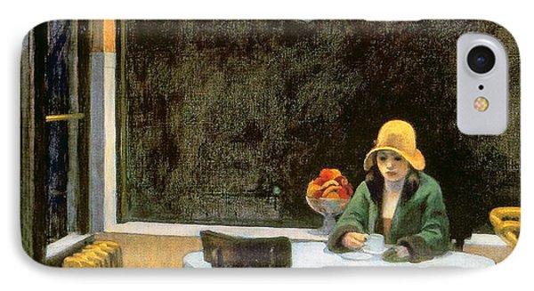Automat IPhone Case by Edward Hopper