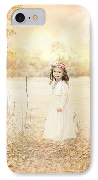 Autumn Angel Phone Case by Cindy Singleton
