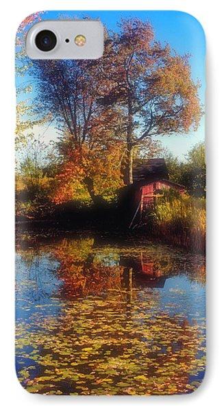 Autumn Barn Phone Case by Joann Vitali