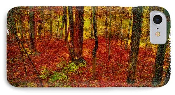 Autumn Carpet IPhone Case by David Patterson