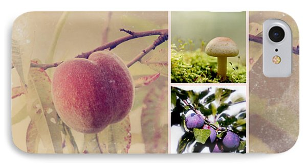 Autumn Collage Phone Case by Heike Hultsch
